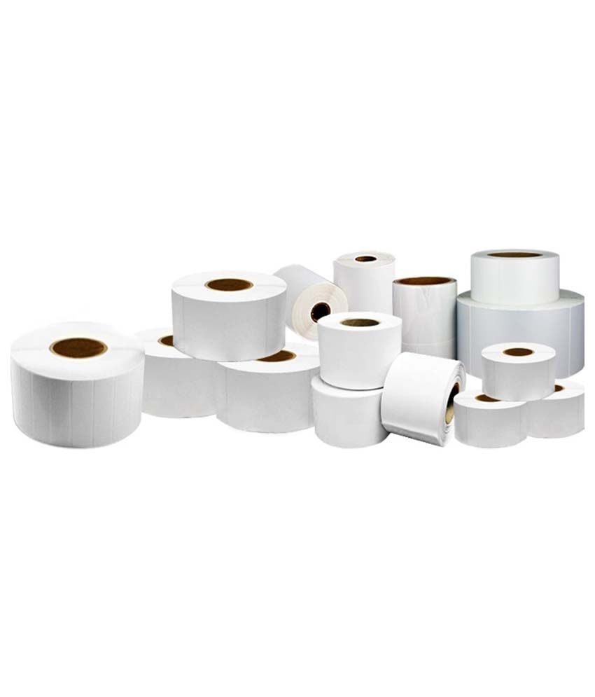 Maestrod Barcode Label Roll M114 (25mm x 25mm) - Pack of 21000 Labels