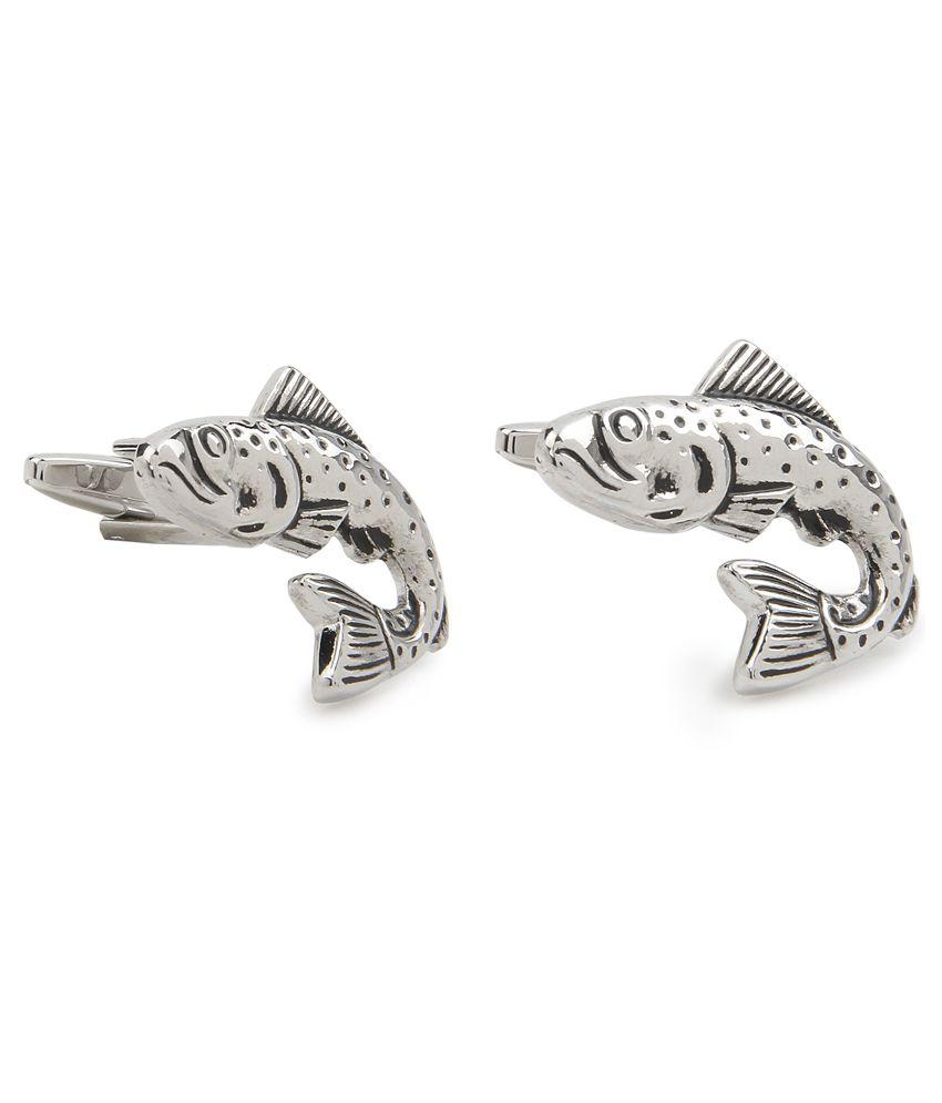 Original Penguin Silver Cufflinks