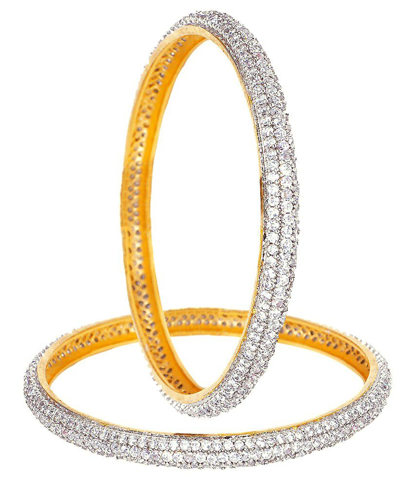 Sty Lyn Jewels Gold Bangles