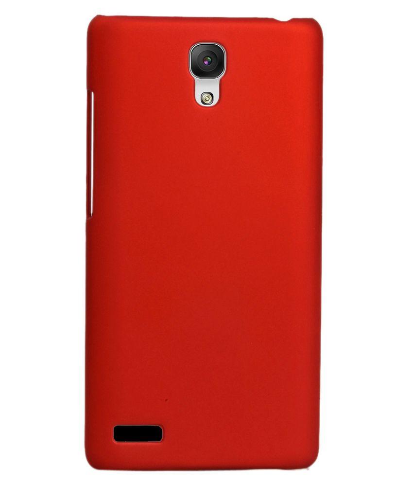 RDcase Back Cover For Xiaomi Redmi Note-Xiaomi Redmi Note 4G - Red