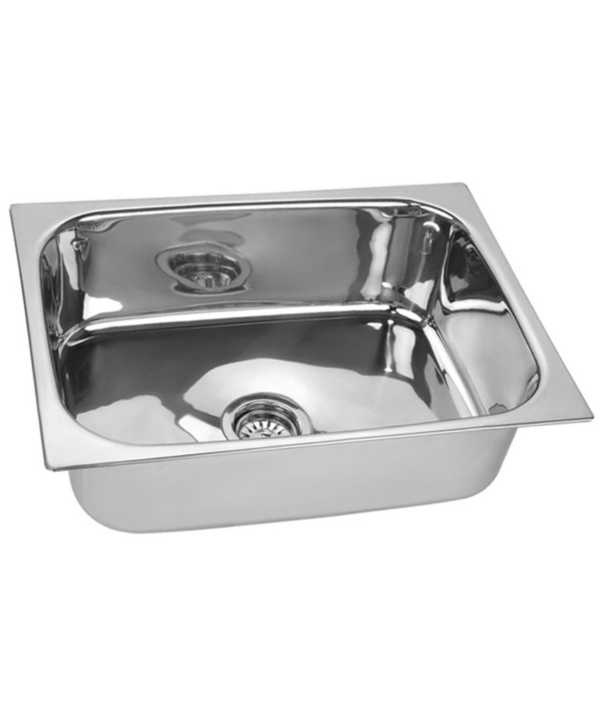 buy wega silver stainless steel kitchen sink online at low price in rh snapdeal com