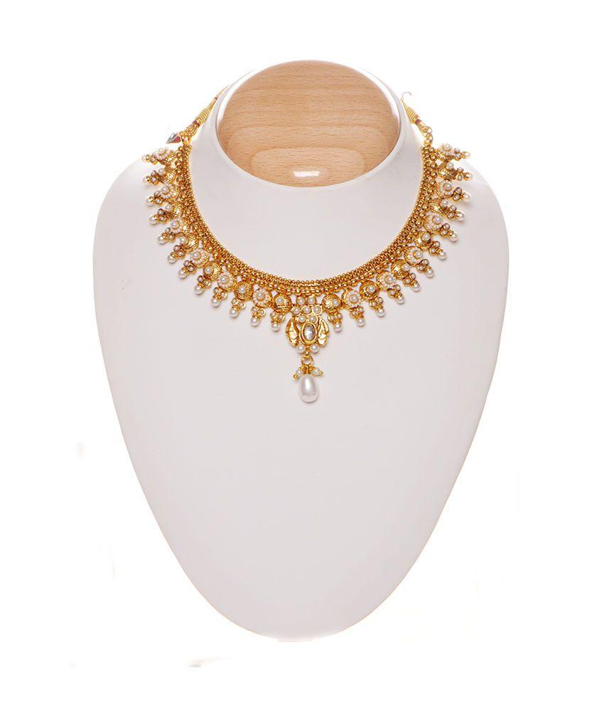 iGenie Golden Copper Necklace Set