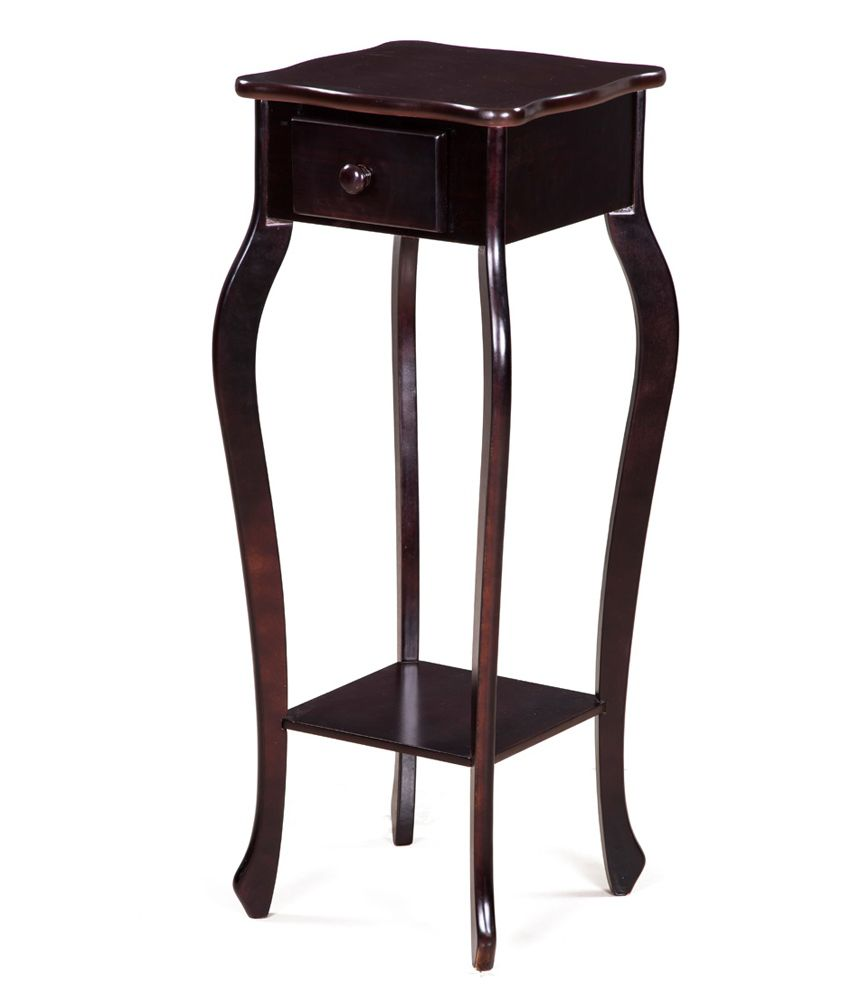 Royaloak Cherry Side Table With Honey Brown Finish