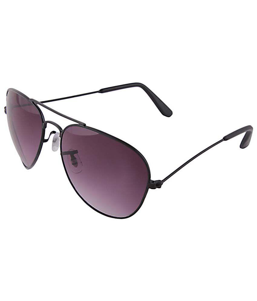Selfieseven Sc007 Purple Wayfarer Sunglasses For Men