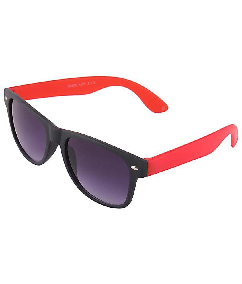 Selfieseven sc001 Purple Wayfarer Sunglasses For Men