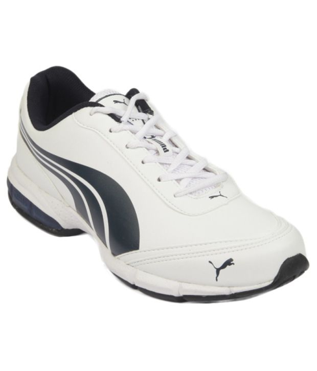 Puma Comfortable White Sport Shoes