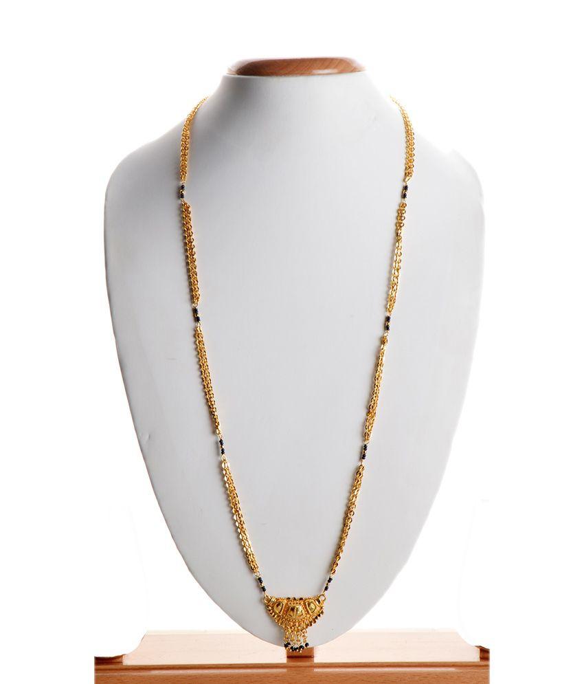 iGenie Golden Alloy Fashionable Mangalsutra