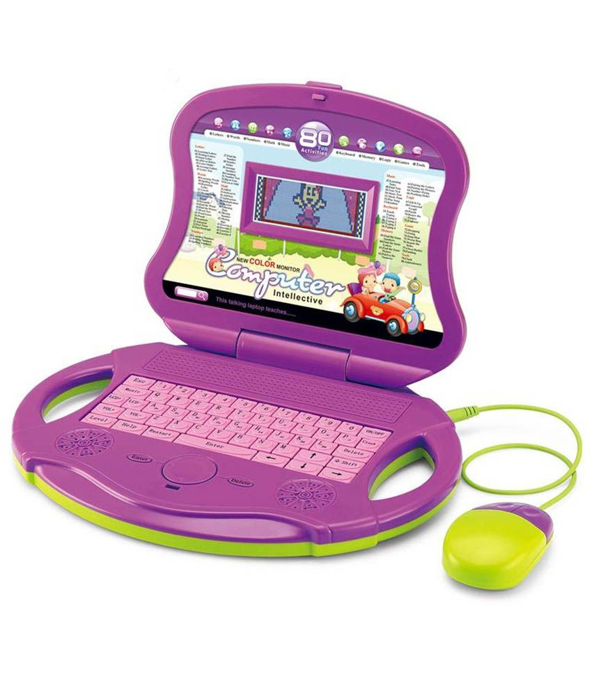 I-gadgets Kids Educational Laptop With LCD Colour Display ...