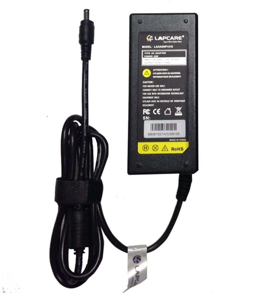 Lapcare 65W Adapter For Acer Aspire-5730g With Actone High Quality Power Cord