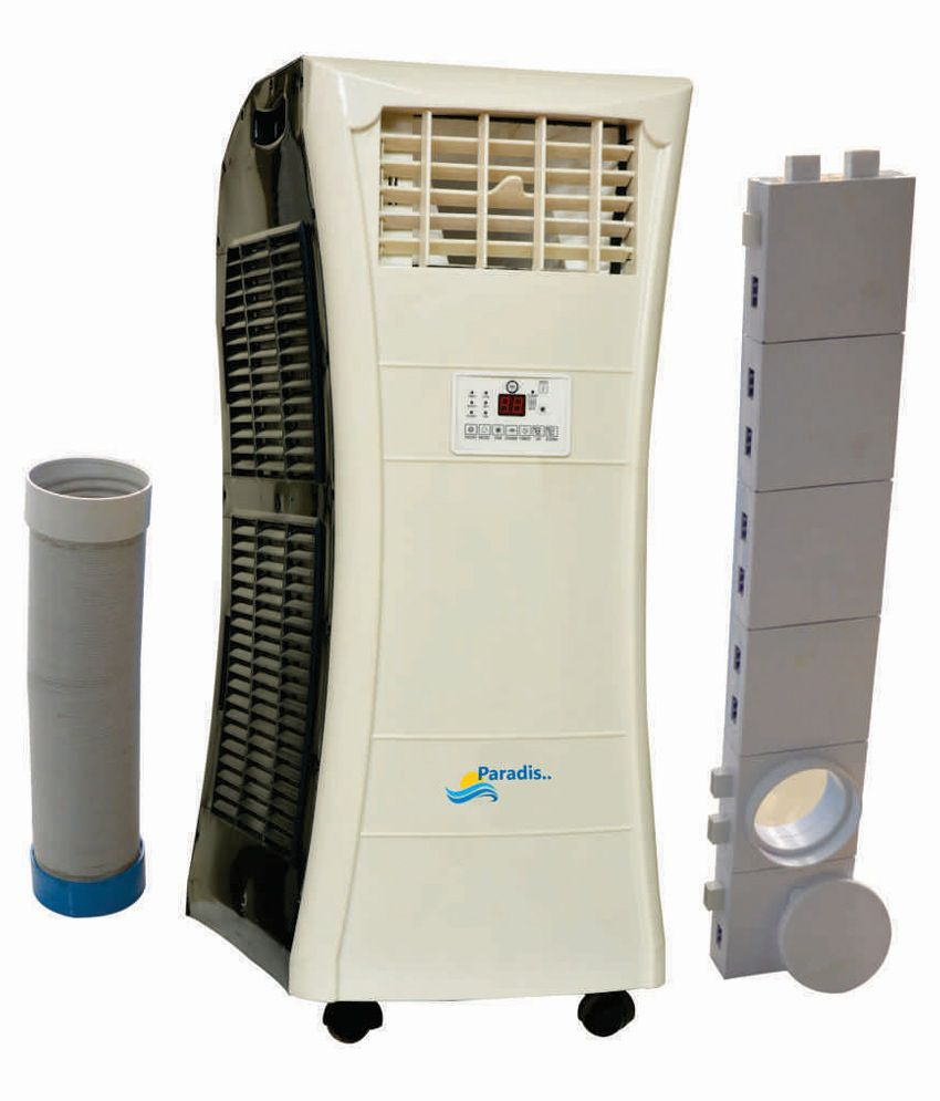 Paradis 1.0 TR (ton) / Paradis100 Portable Air Conditioner (White/Dark Grey)