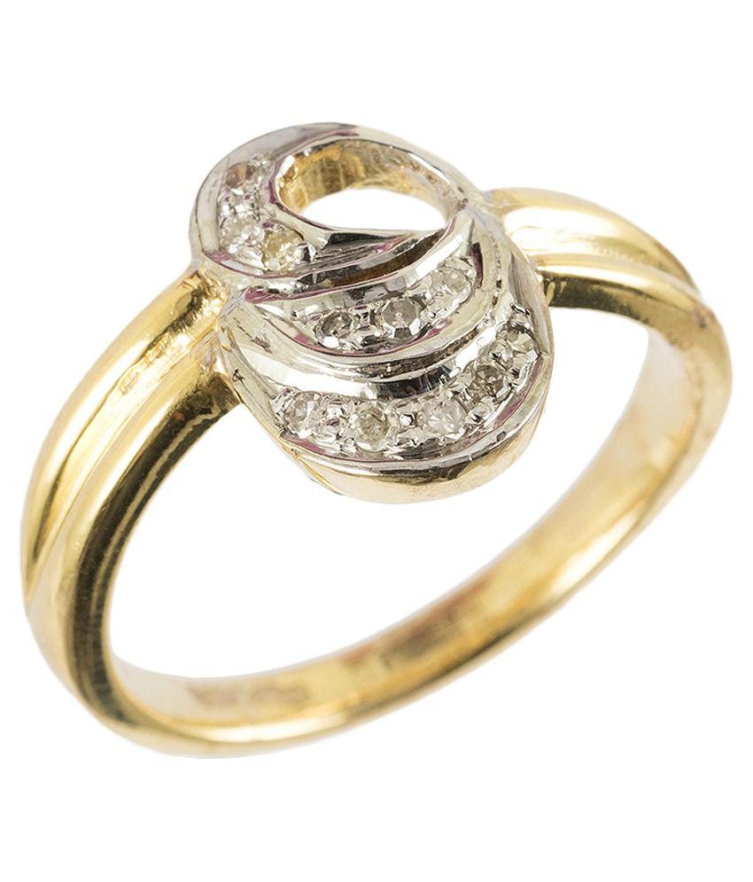 Tatiwalas-soul Jewelery Gold 9kt Round Diamond Ring