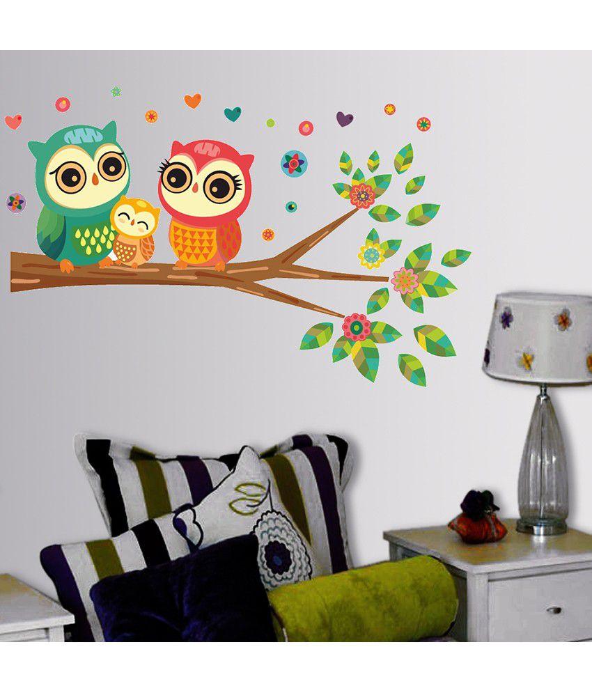 StickersKart Best Selling Big Eyed Cute Owl