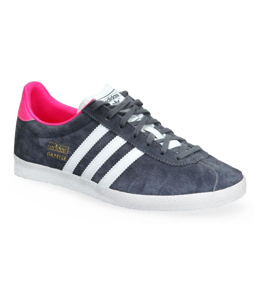 adidas Originals Gazelle Grey Casual Shoes ...