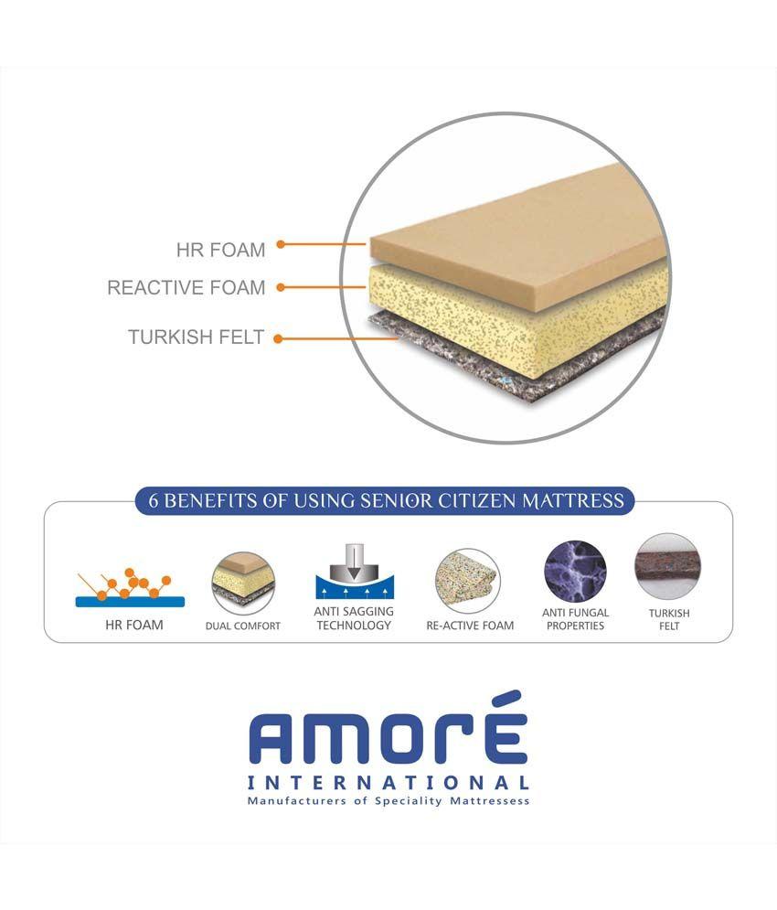 amore international senior citizen firm mattress buy amore