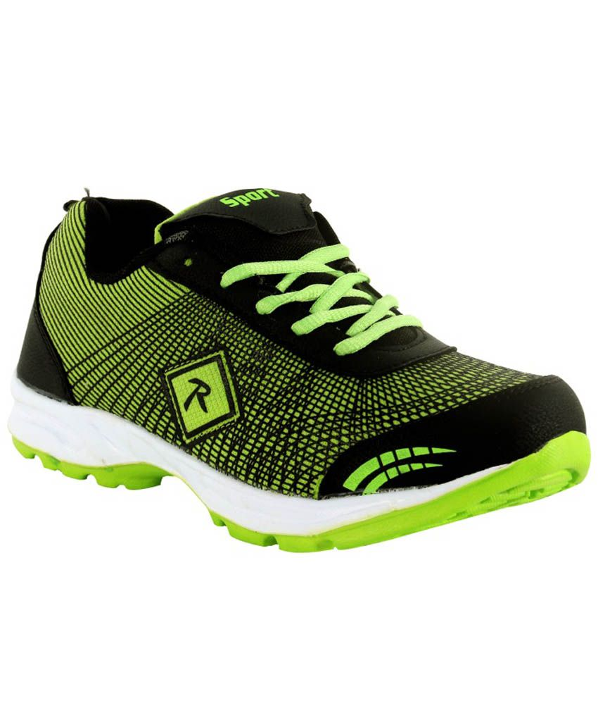 Trendfull Black Sports Shoes