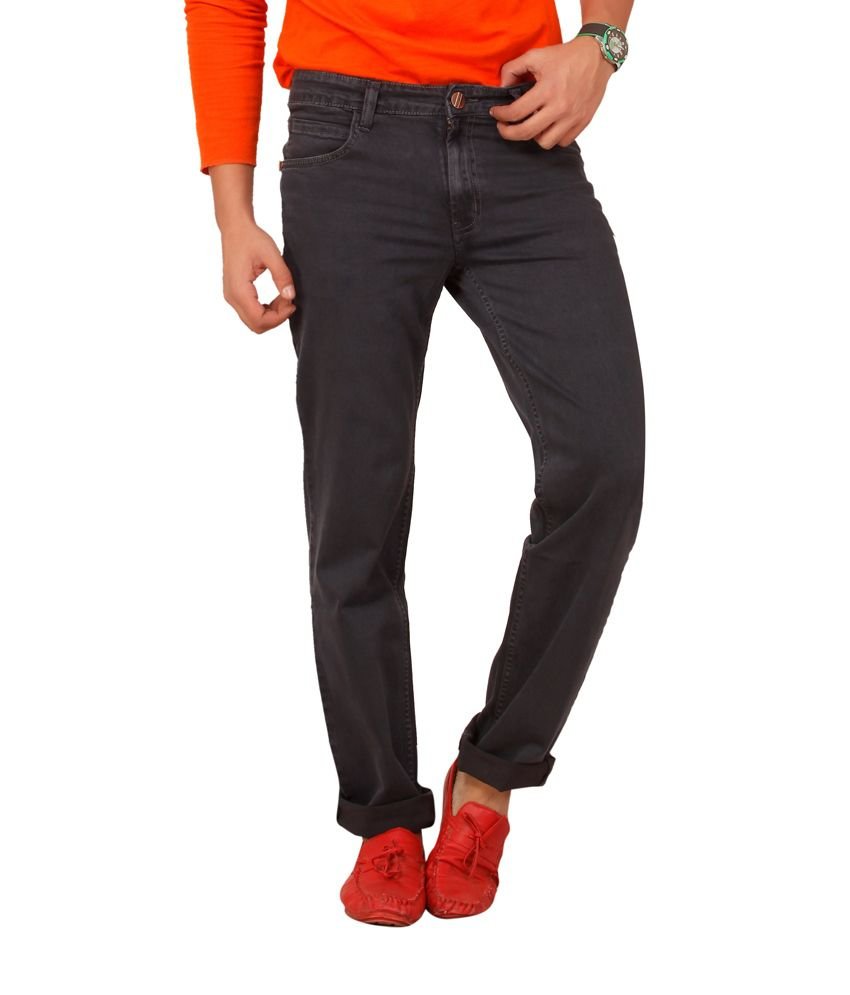 Carrie Jeans Grey Regular Fit Jeans