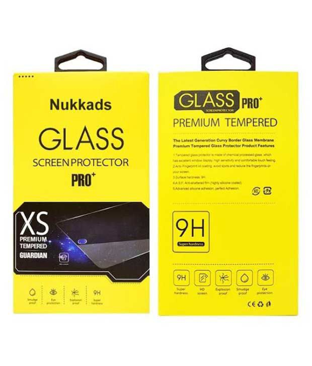 Motorola Moto G3 Tempered Glass Screen Guard by Nukkads