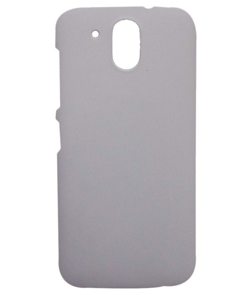 huge selection of 9a871 ead45 Accessories24x7 Back Cover for HTC Desire 326G - White - Plain Back ...