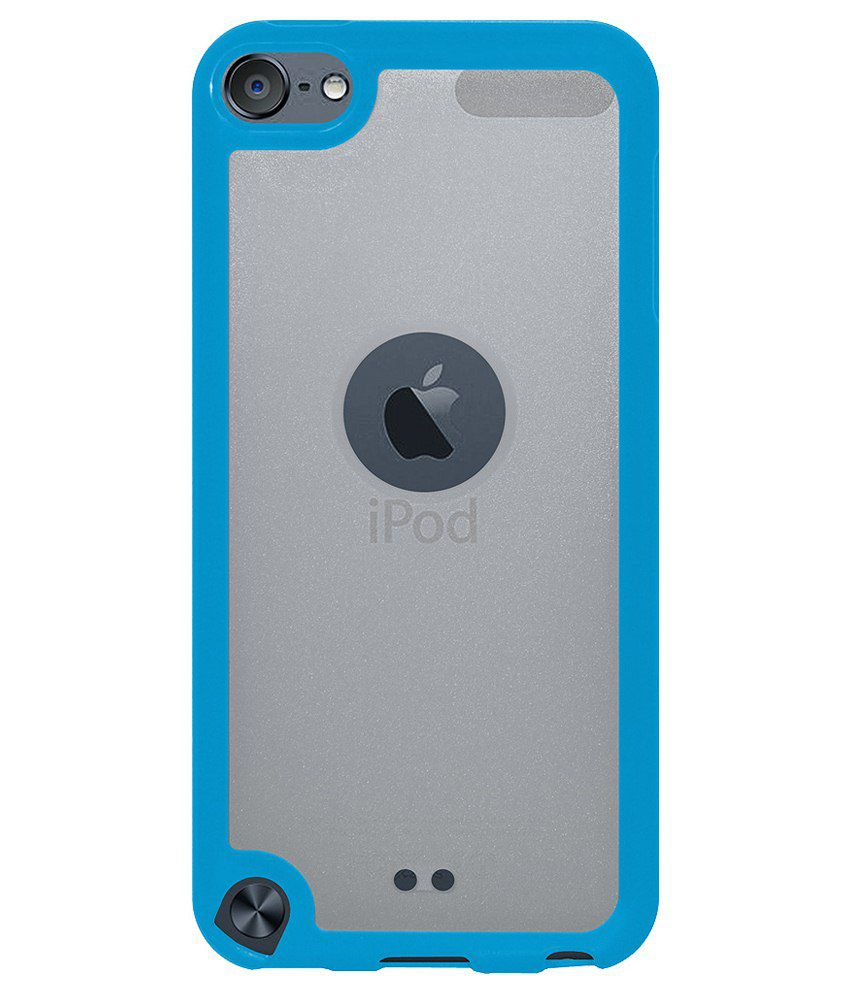 amzer back cover for ipod touch 6th gen blue available at. Black Bedroom Furniture Sets. Home Design Ideas