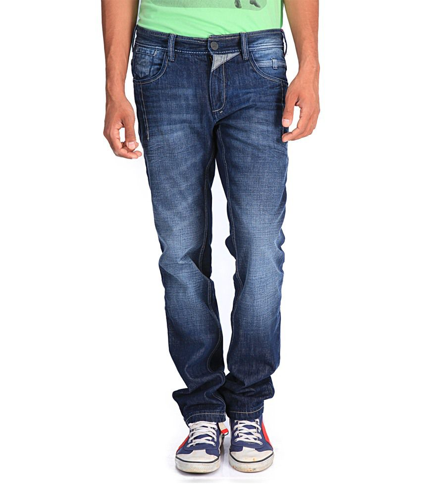 Blacksoul Blue Slim Fit Jeans