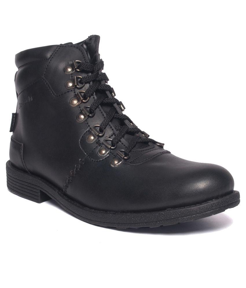 Damochi Black Lace Boots