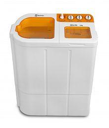 Electrolux 6.8kg Euro Glitz Plus Semi Automatic Top Load Washing MachineLuminous Orange
