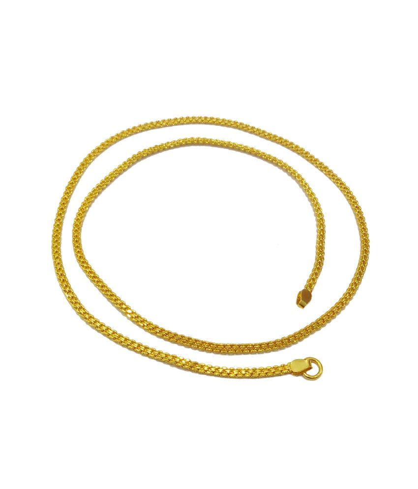 GB Jewellery Golden Brass Chain