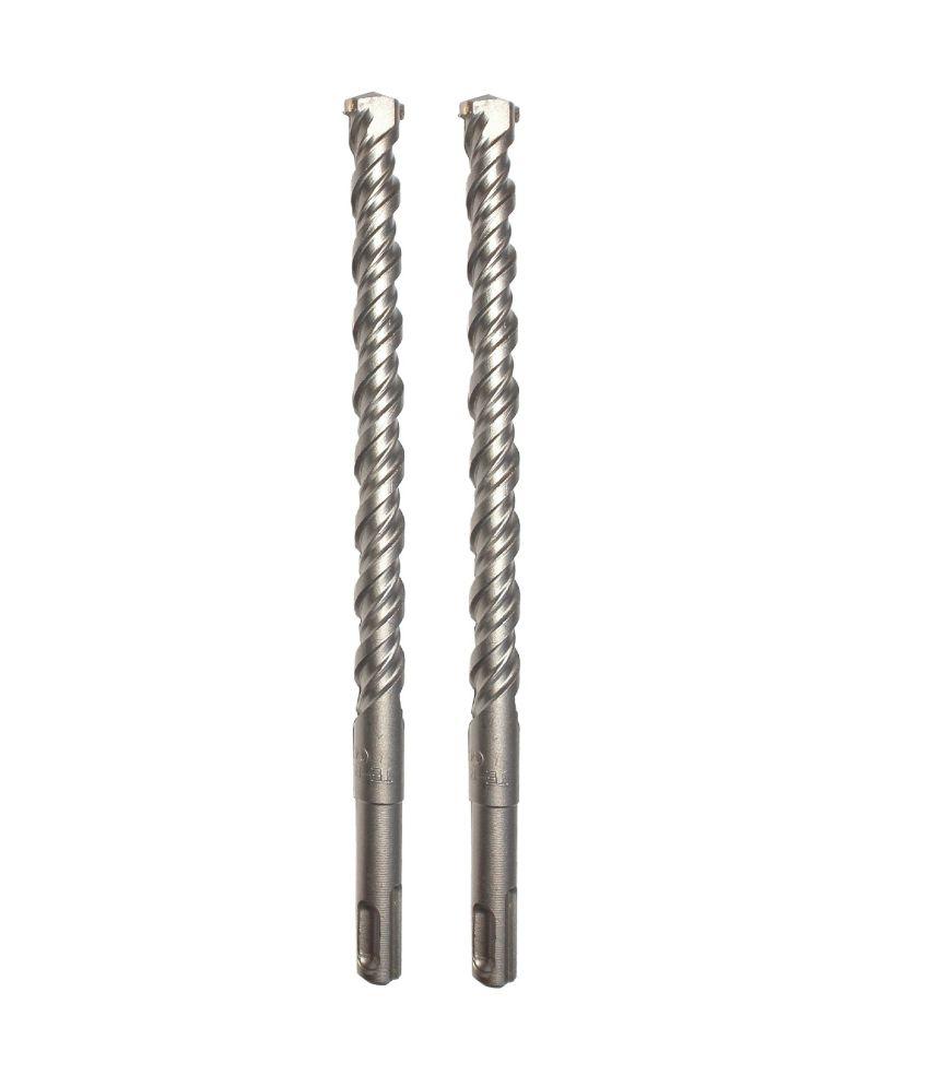 Te-Rux SDSP14260-2 SDS Plus Hammer Drill Bit (14 x 260, Set Of 2)