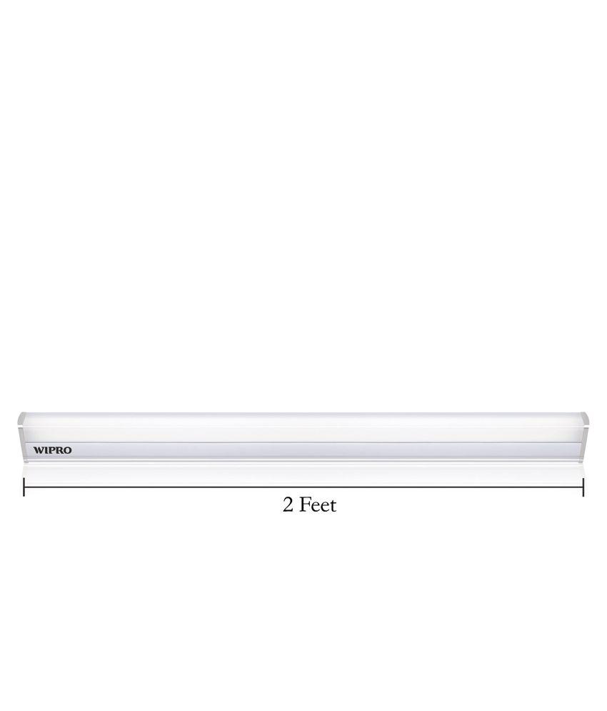 Wipro Garnet 10W 2 Ft  LED Tubelight Batten 6500K (Cool Day Light)