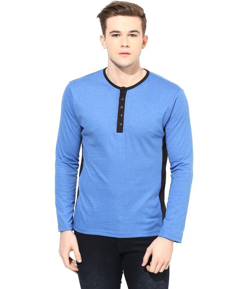 Yellow Submarine Blue Cotton Blend T-Shirt