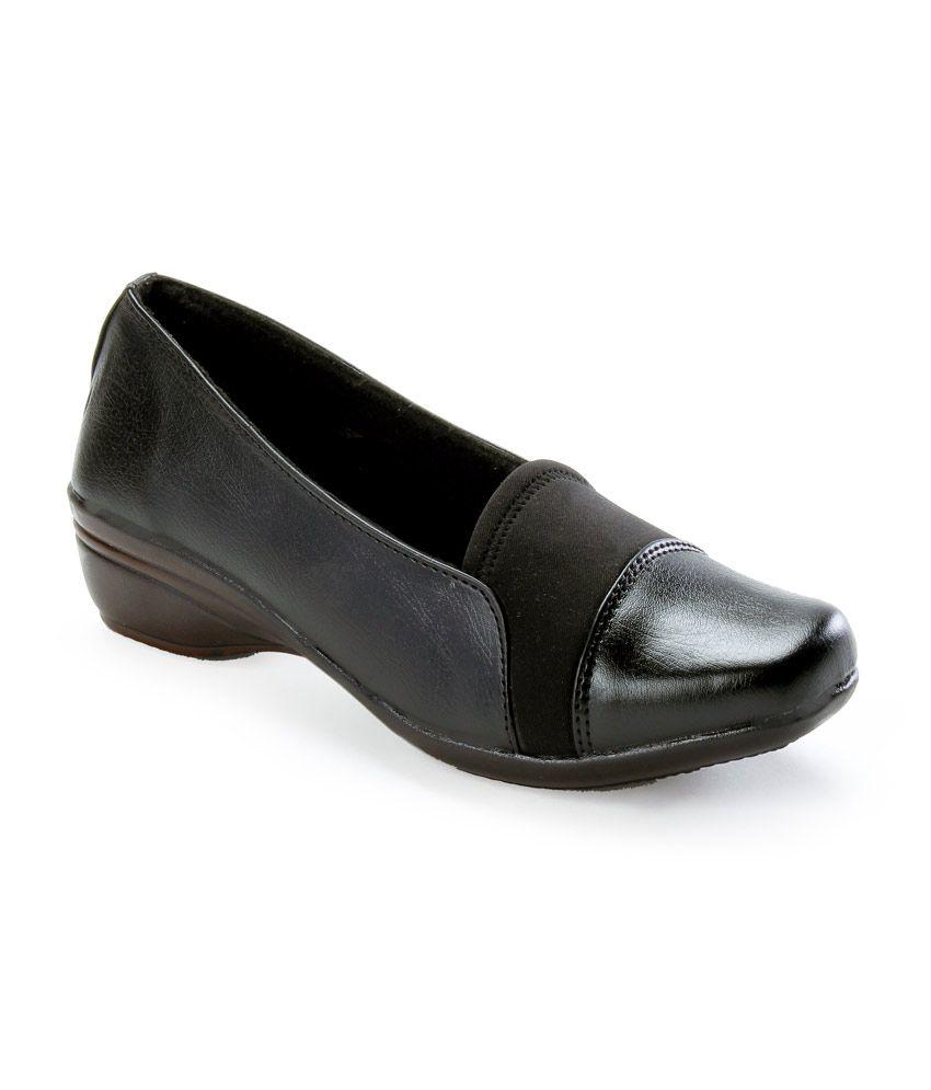 Catbird Black Flat Formal Shoes