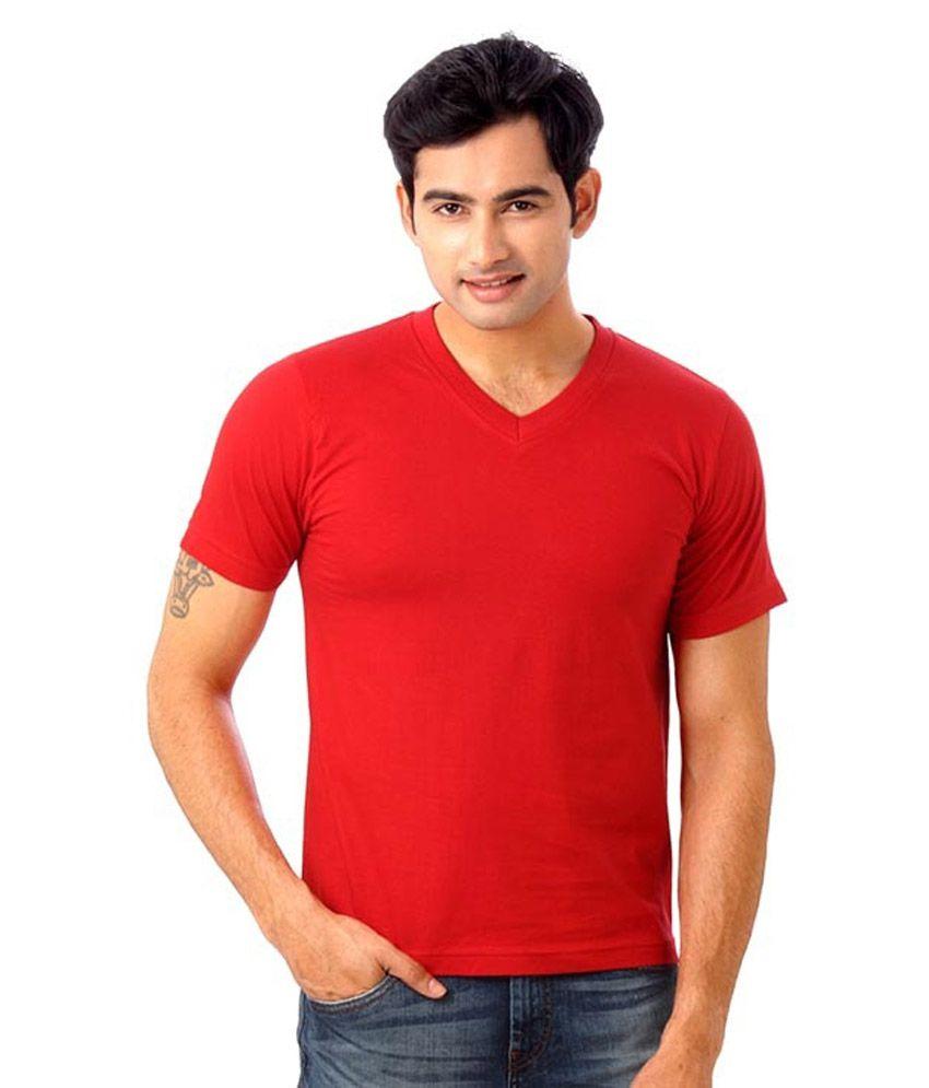 Glamorous Fashionwear Red Cotton T-shirt
