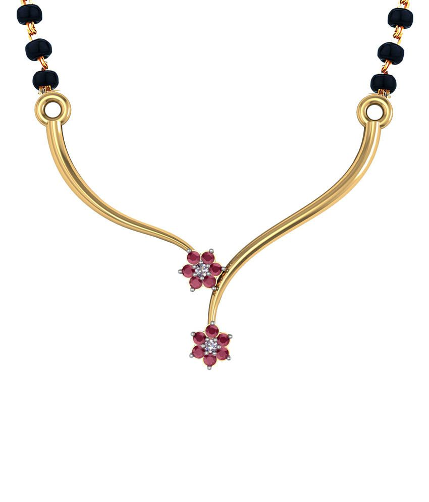 Shruti Golden German Silver Mangalsutra