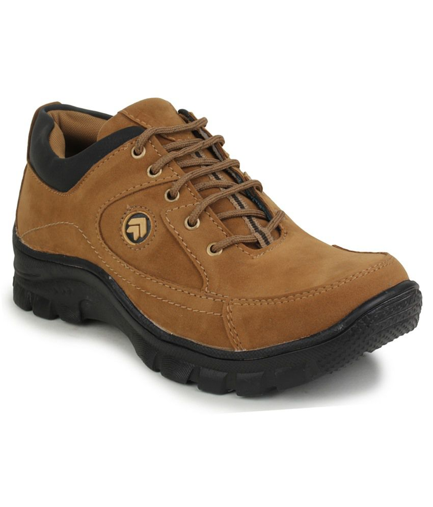 46% OFF On Best Walk Tan Outdoor Shoes On Snapdeal | PaisaWapas.com