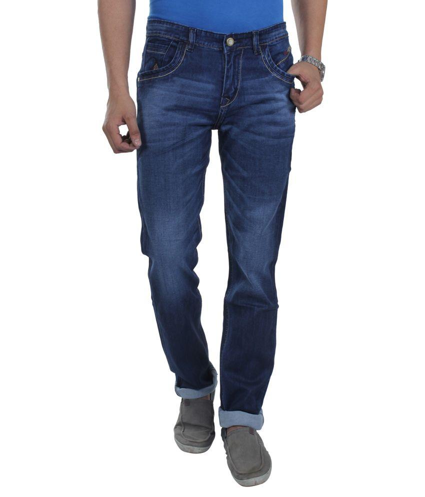 Makeover Blue Slim Fit Jeans