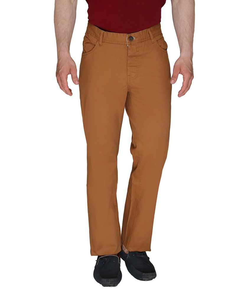 Again? Vintage Khaki Slim Fit Casual Chinos