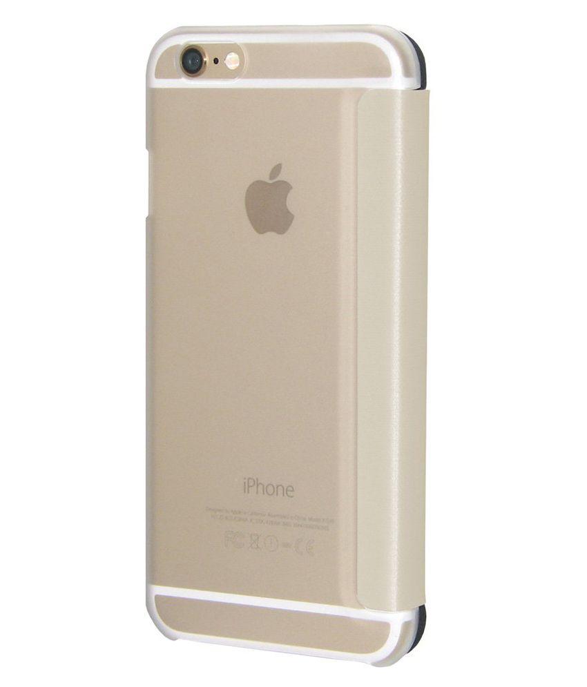 6fc3705b12 Amzer Flip Case - White for iPhone 6s Plus, iPhone 6 Plus - Flip ...