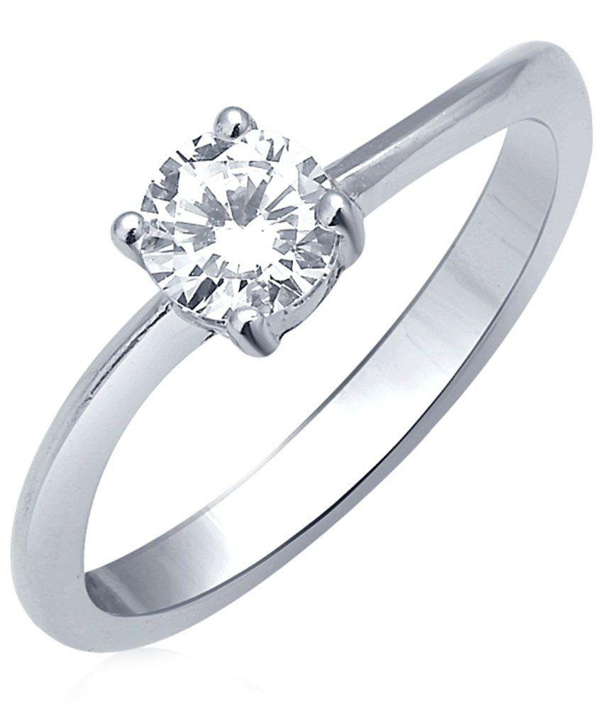 Tvesha 92.5 Sterling Silver Ring