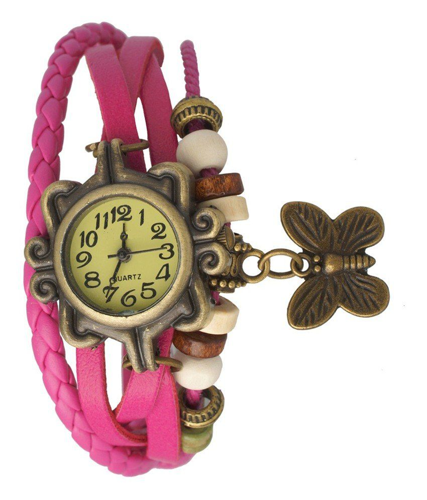 Toss Up Toss up Pink Analog Quartz Casual Watch
