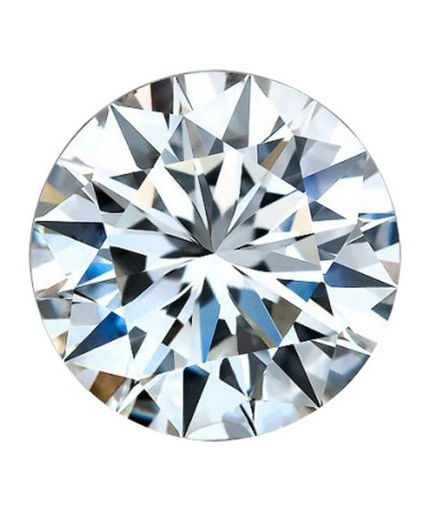 WHITE MACHINE CUT LAB CREATED DIAMOND 1.20 MM ROUND H&A -1000 pcs lot