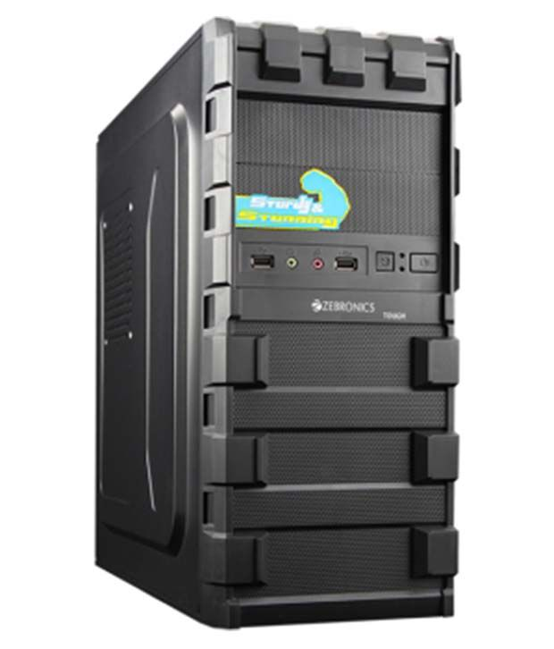 Zebronics Black Tough Computer Cabinet Zeb 418b Buy