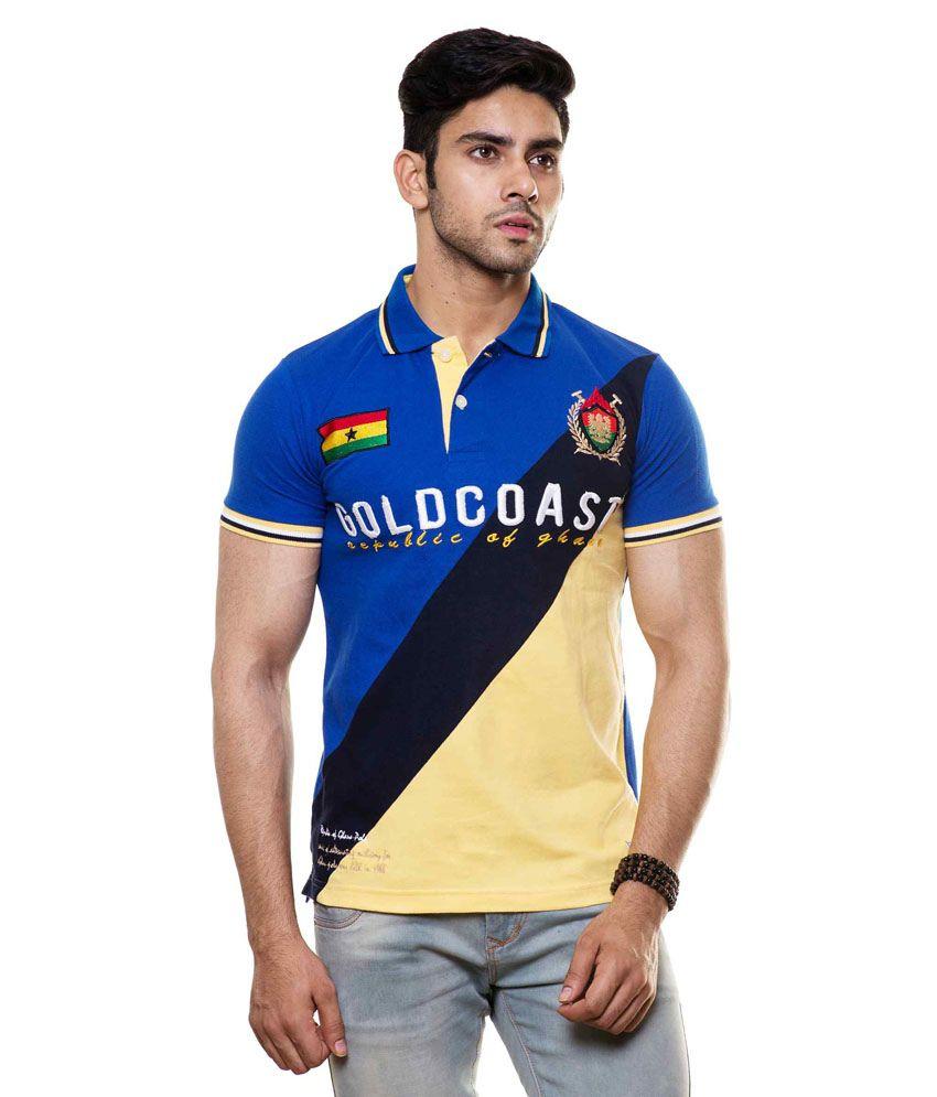 Enquotism Multicolour Cotton T-Shirt