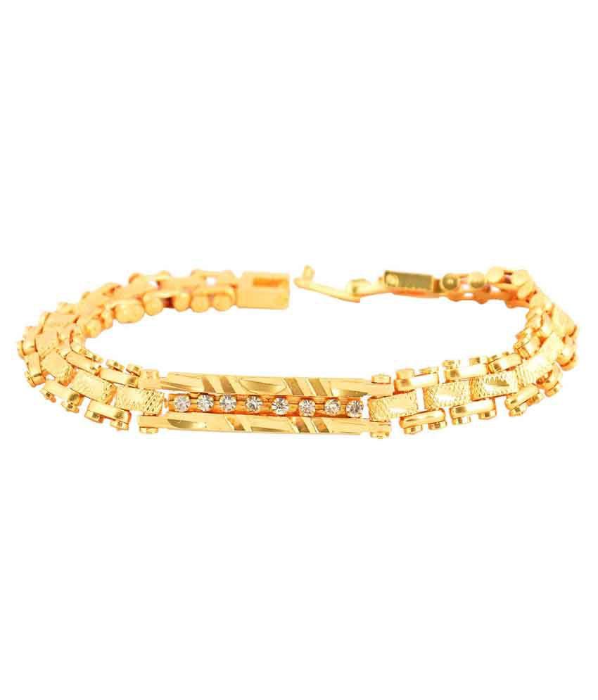 Weldecor Golden Alloy Bracelet