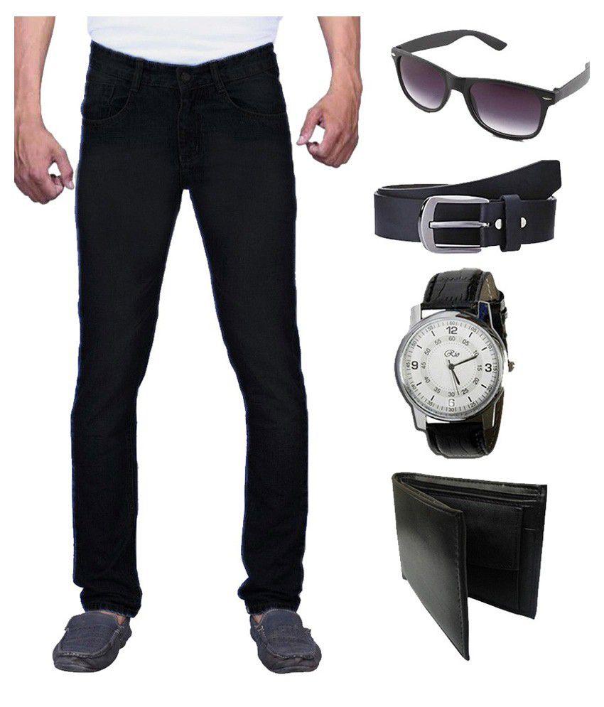 X-Cross Black Slim Fit Jeans