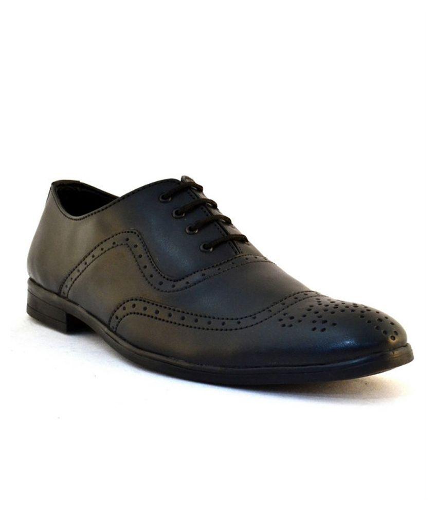 Black Brogue Shoes India