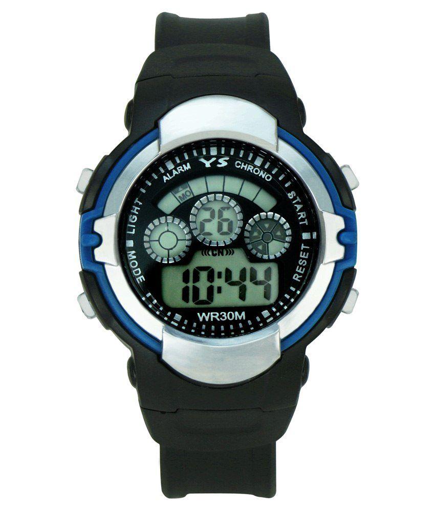 Crude Black Smart Watch For Kids