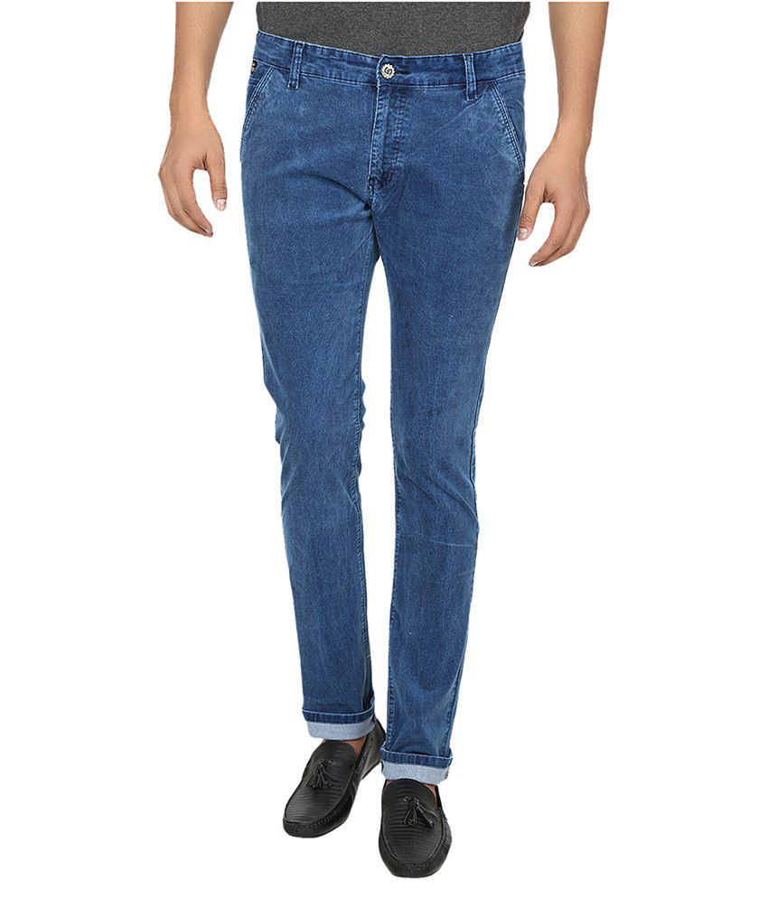 Fever Blue Slim Fit Jeans