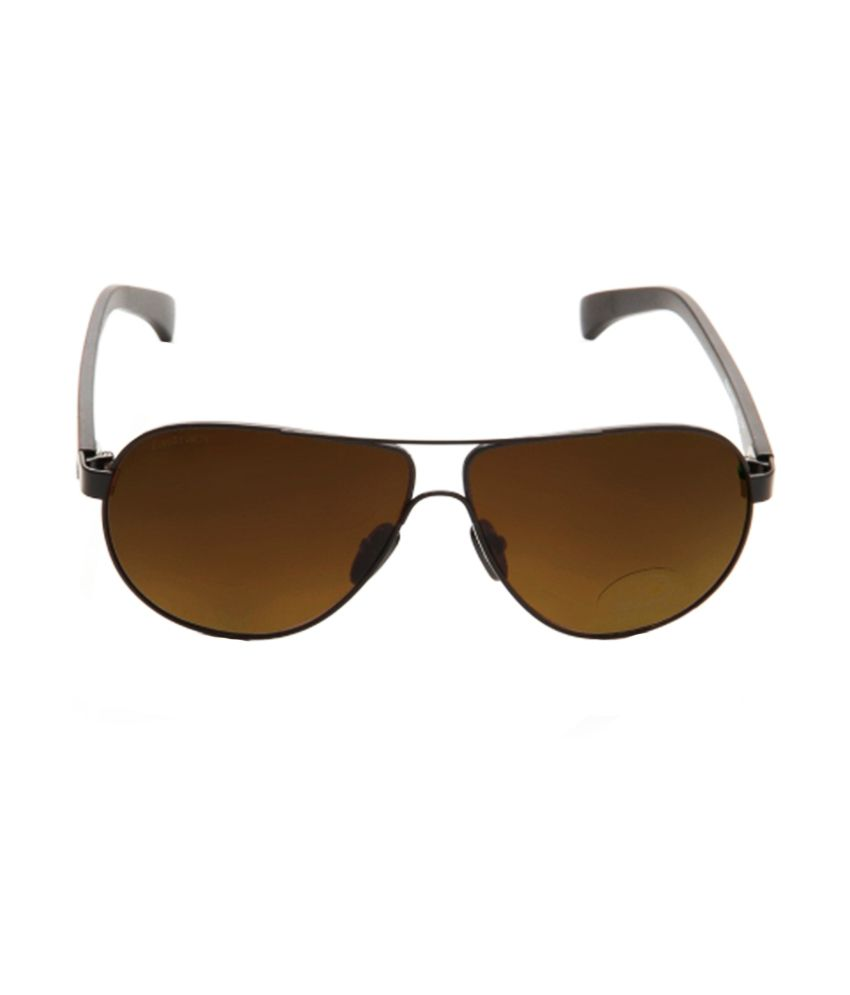 b62adf848e5 Fastrack Black Aviator Metal Frame Sunglasses Art FTEM133BR2 - Buy ...