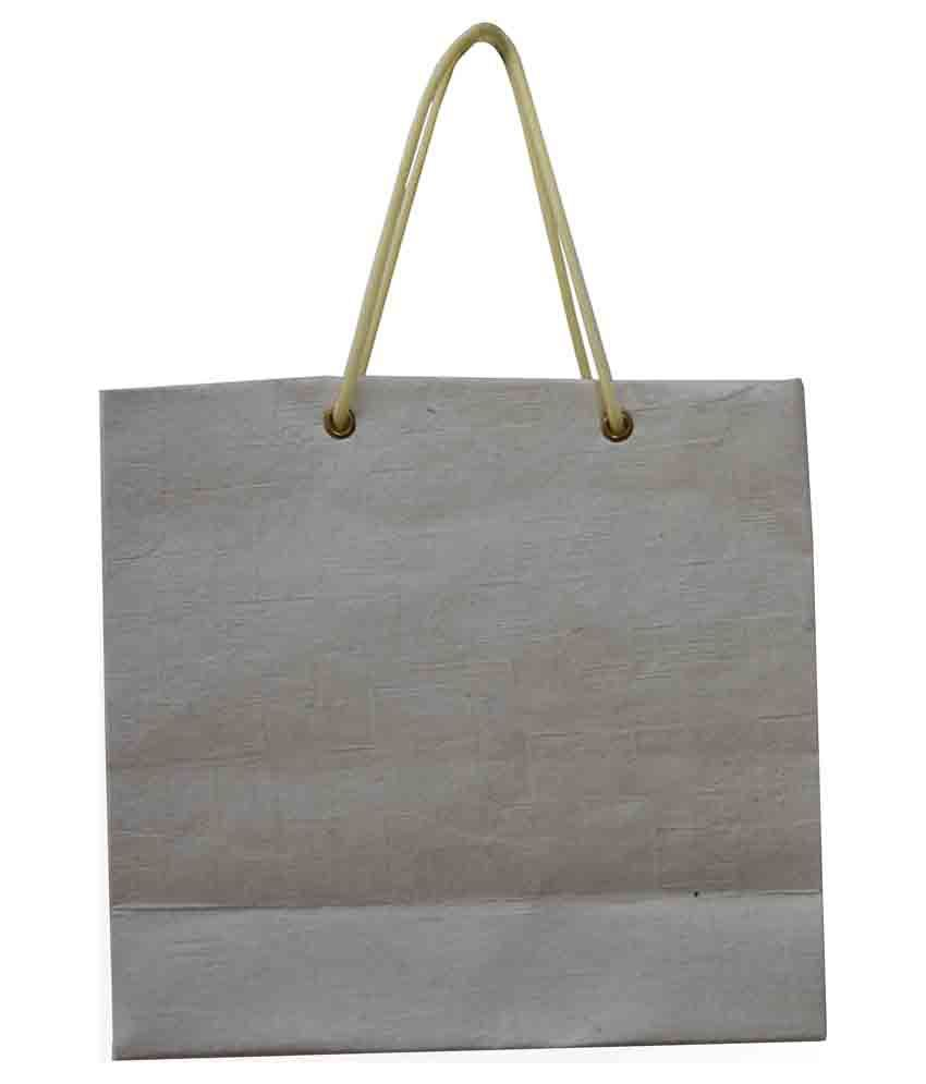 Friendly Hand Made Paper Bags Paper Shopping Bag-white