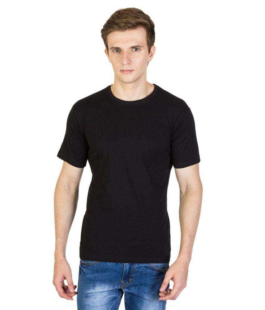 LF Black Cotton T-Shirt